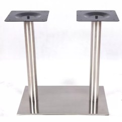 Stainless Steel Kitchen Table Booth Seating Legs Square Chrome 2102ss China Commercial Furniture Supplier