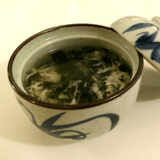 Soupe aux algues - Bistro Zakka - Bao Lyon