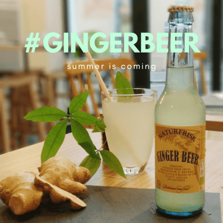 ginger beer - bistro zakka - bao lyon