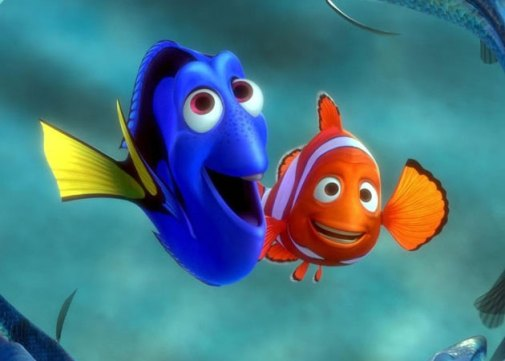 Nemo y Dory