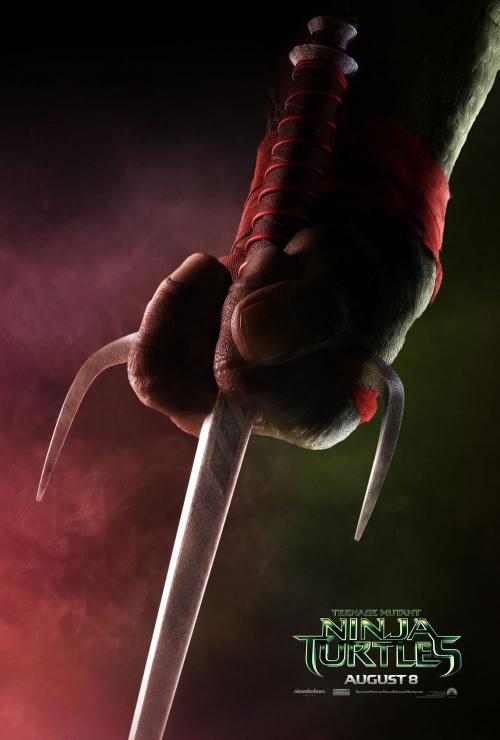tortugas ninja poster raphael