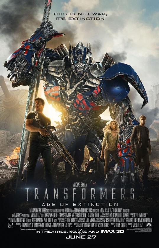 'Transformers: la era de la extinción' de Michael Bay
