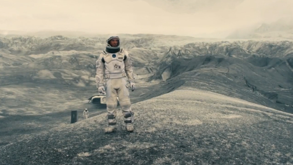 interstellar trailer y poster