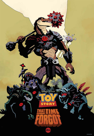 mike mignolia toy story that time forgot