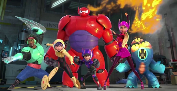 Protagonistas de 'Big Hero 6'