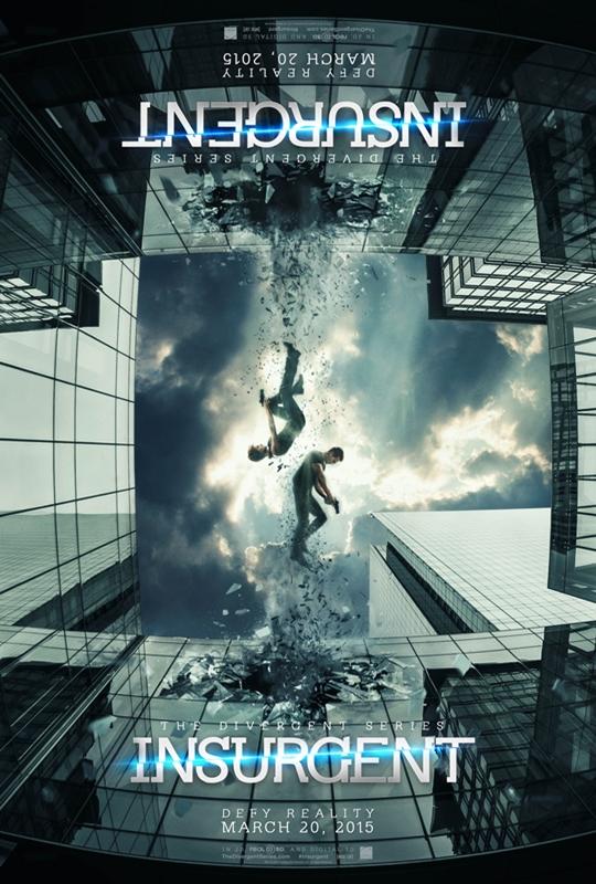 Poster de 'Insurgente' segunda parte de 'Divergente'
