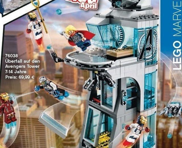 Torre stark Lego
