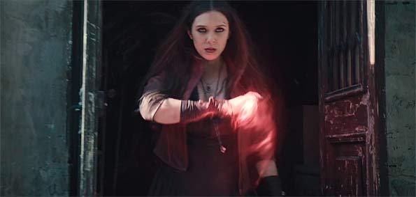 bruja escarlata elisabeth olsen vengadores ultron