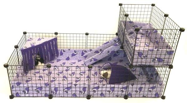 Hamster designed cage