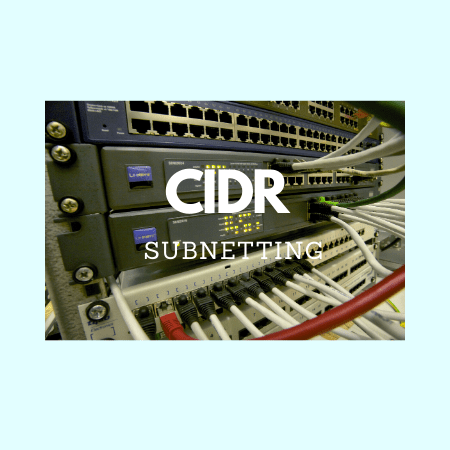 CIDR and subnetting