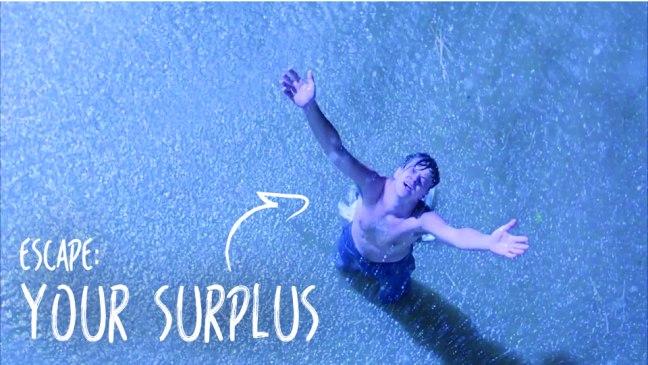 Escape: Your Surplus