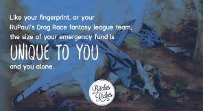 You Must Be This Big to Be an Emergency Fund