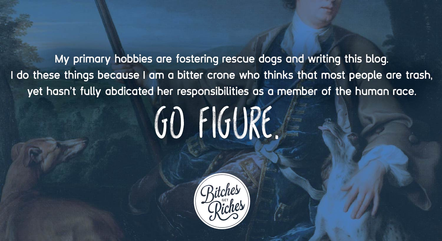 My Primary Hobbies Are Fostering Rescue Dogs And Writing This Blog. I Do  These Things