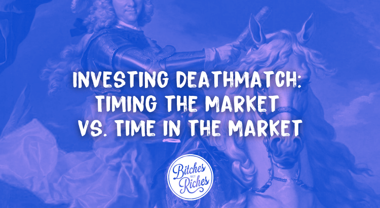 Investing Deathmatch: Timing the Market VS Time IN the Market