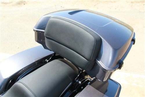 Two Piece Custom Backrest for Harley Davidson Tour Packs