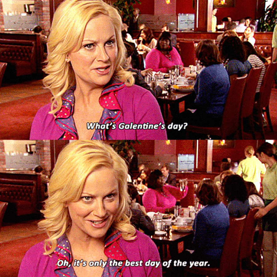 From Leslie Knope To Shine Theory Galentine S Day Reminds