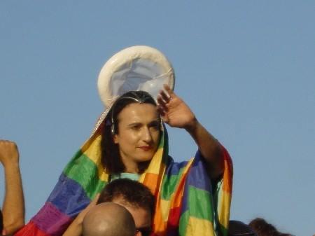 Risultati immagini per gay pride offende la madonna
