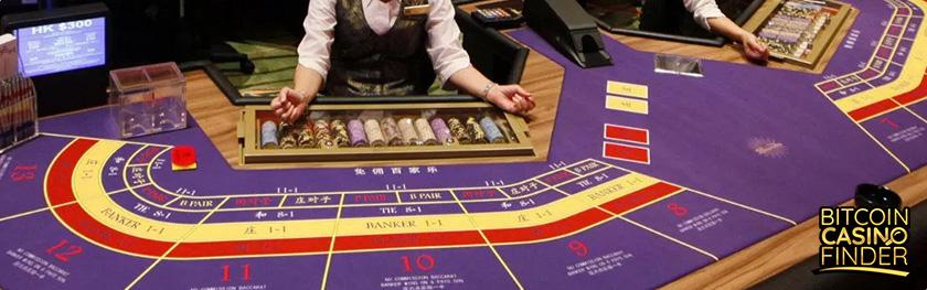 Bitcoin Baccarat - Bitcoin Casino FInder