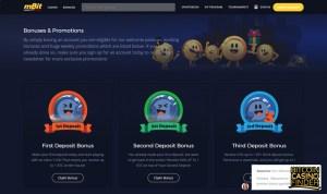 mBit Casino screenshot - Bitcoin Casino Finder