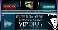Sloto Cash screenshot - Bitcoin Casino Finder