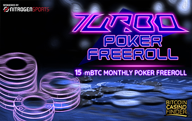 Go Turbo With Bitcoin Casino Finder's Poker FreeRoll