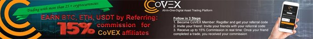 covex referal program affiliates