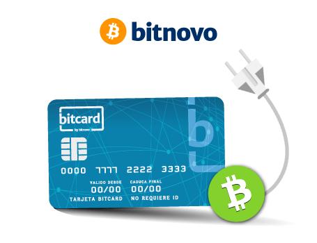 Bitcoin cash bitcard bitnovo