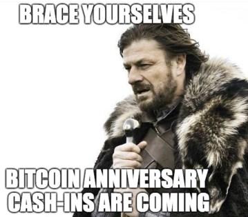 The Daily: Fiat vs Crypto Laundering, Bitcoin Anniversary Cash-Ins