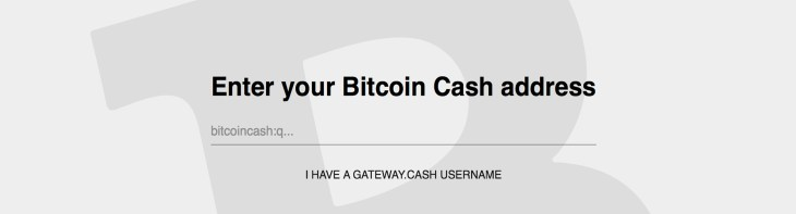 A Look at the Gateway.cash BCH Payment Button for Websites