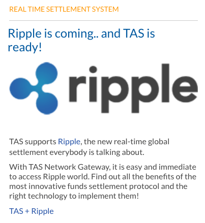 Ripple and Tas Integration Confirmed while XRP Liquidity Getting a Major Boost 1