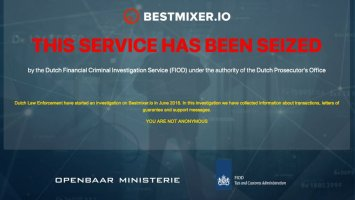 Bestmixer.io confiscated by Europol 3