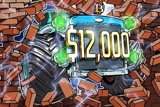 Bitcoin Price Parabolic Advance Continues Past $12,000 1