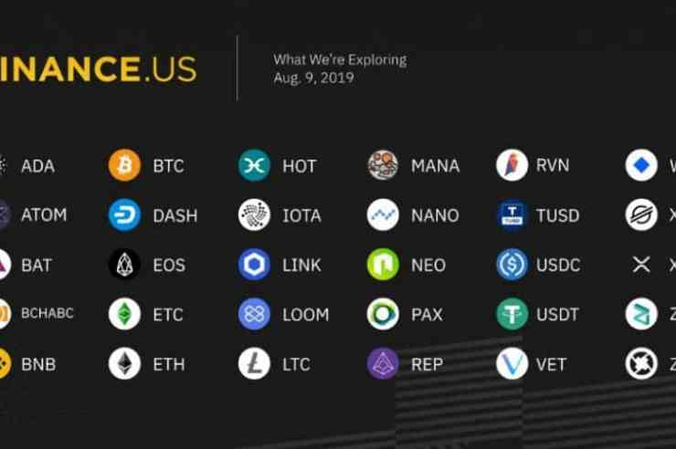 Binance.US to Begin Operations with Six Cryptocurrencies Next Week 1