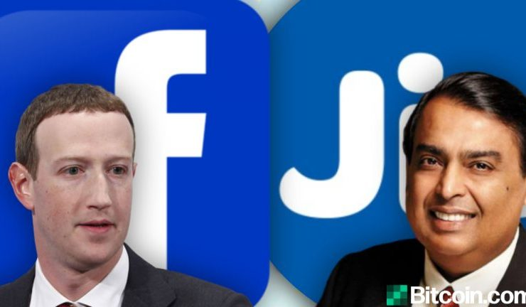 Facebook Buys Stake in Reliance Jio — How the Deal Affects Cryptocurrency in India 1