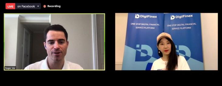 Digifinex Live AMA Hosts Bitcoin.com Chairman – Roger Ver Talks Stimulus, Useful Cryptocurrencies, Coronavirus 2