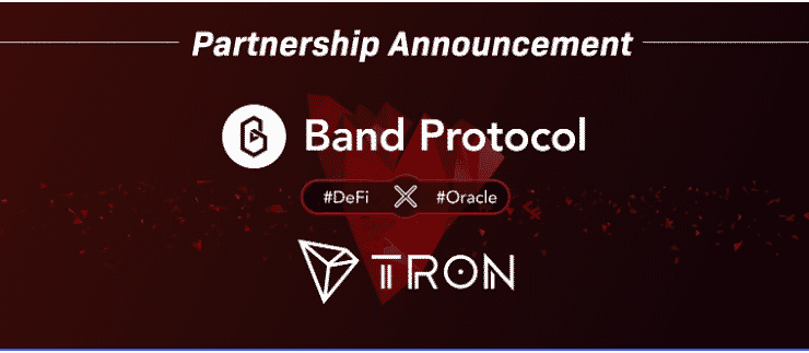 TRON Strategically Partners With Band Protocol For Scalable Oracle Technology & Extensive Integrations 1