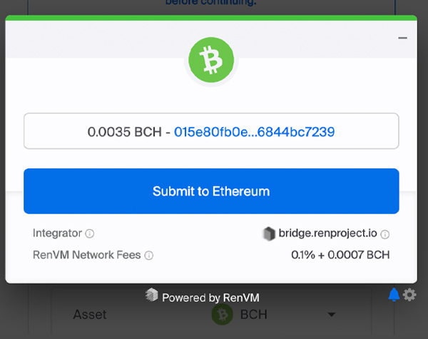 Inter-Blockchain Liquidity: Minting Synthetic Bitcoin Cash With the Ren Protocol 8