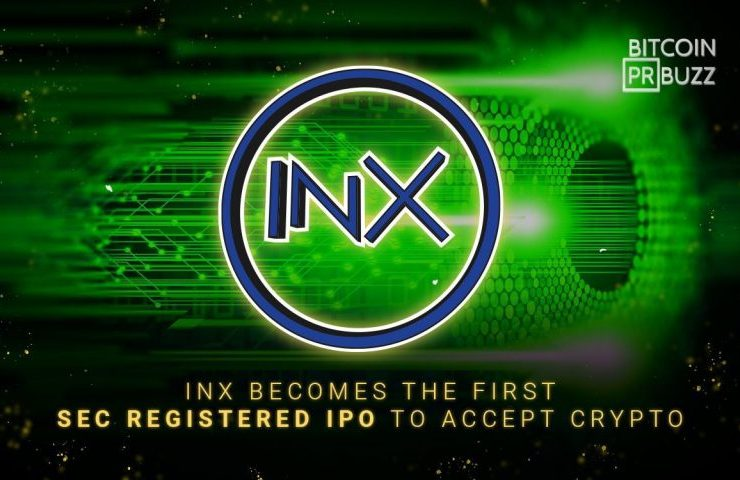 INX Becomes the First SEC-Registered IPO to Accept Crypto 1