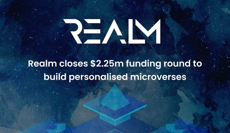 realm closes 2 25m for seed investment to build nft powered microverses 768x430 1