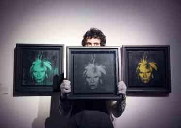 Three Self Portrait NFT