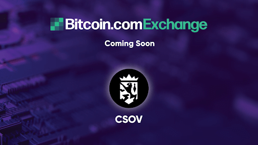 quantum resistant token crown sovereign csov will be listed on bitcoin com