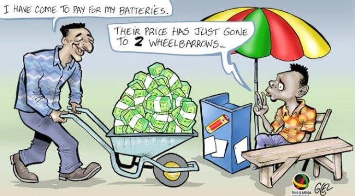 """Zimbabwe reintroduces the Zim Dollar"" (Source: ThisIsAfrica.me, June 26, 2019"