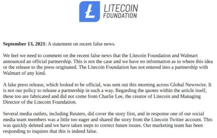litecoin statement1