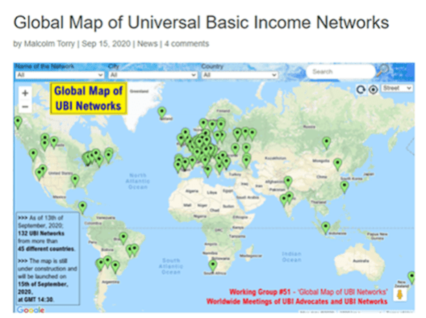 map of ubi