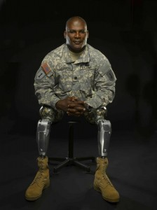 Lt. Col. Gregory Gadson of the Army Wounded Warrior Program