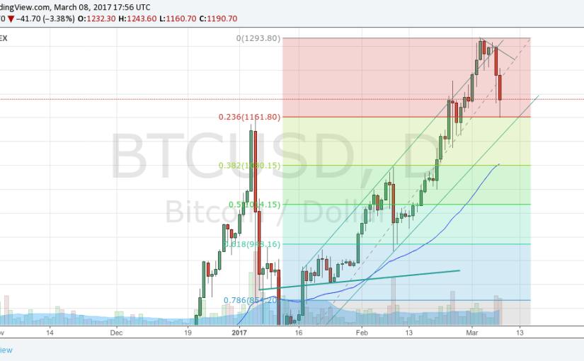 Cena Bitcoinu odfukuje pred ďalším výstupom. Čo na to seňor Fibonacci?