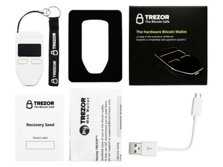 Whats in the trezor box