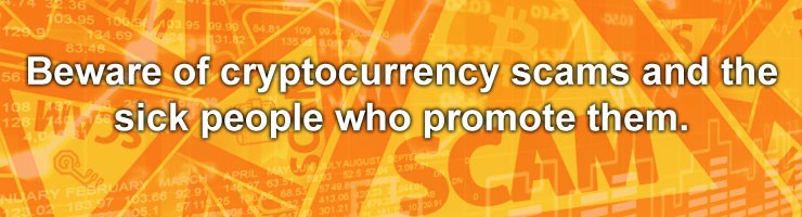 beware crypto scams