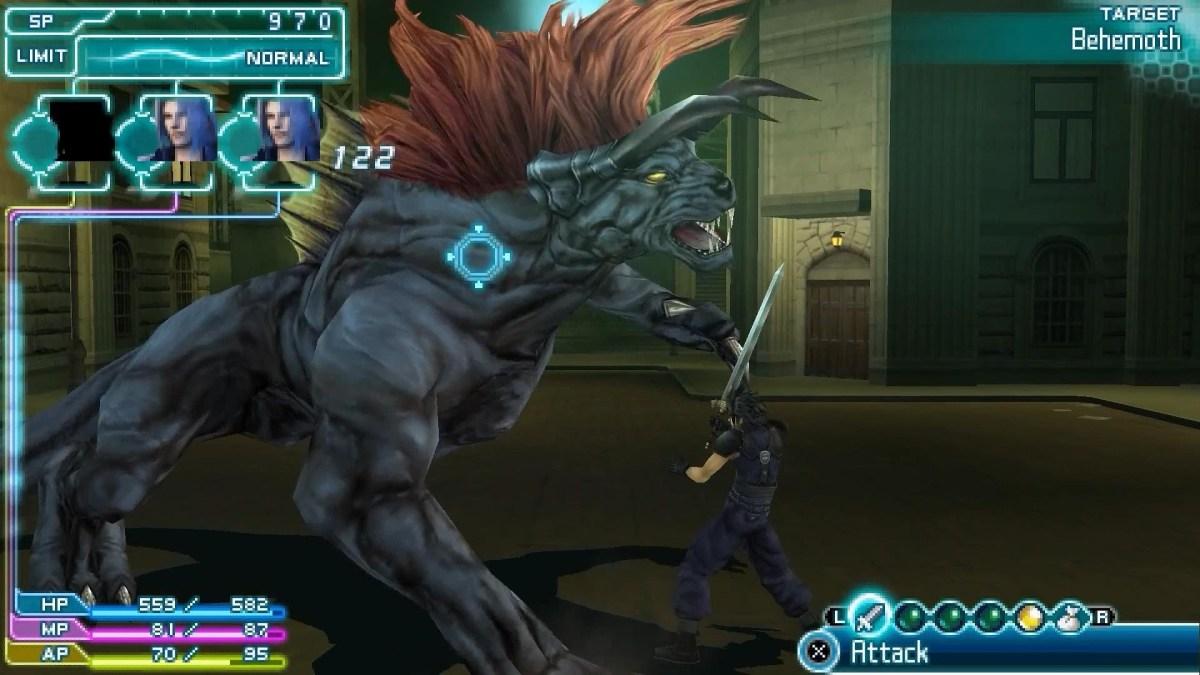 Crisis Core Behemoth