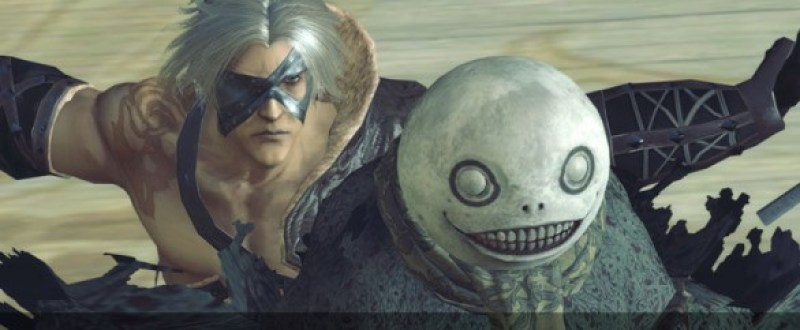 If Nier is wearing this mask, you're probably half way through.